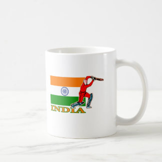 Indian Cricket Player Coffee Mug