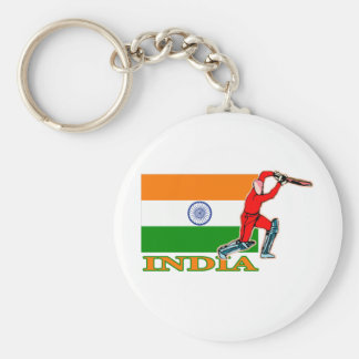 Indian Cricket Player Key Ring
