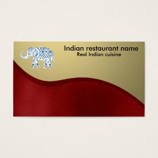 700 indian business cards and indian business card for Aum indian cuisine