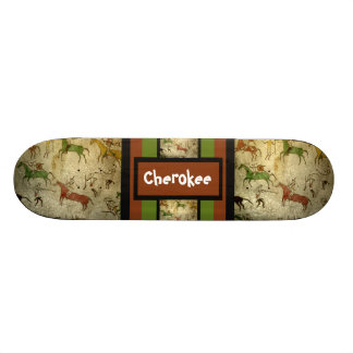 Indian customizable text skateboards