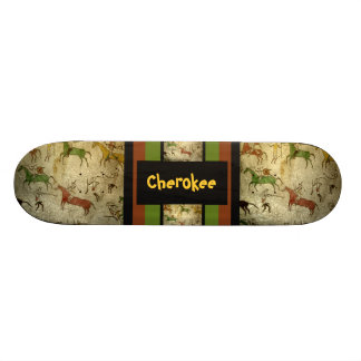 Indian customizable text skate board