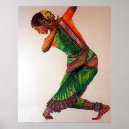 Indian dance II Poster