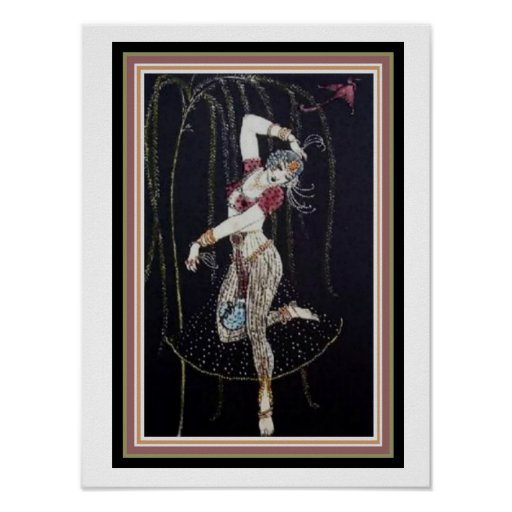 Indian Dancer by George Barbier  12 x 16 Poster