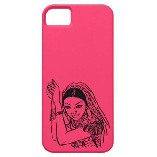 Indian Dancing Woman iPhone 5 Covers