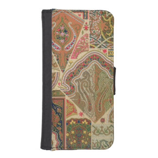 Indian Decoration, plate XIX from 'Polychrome Orna iPhone SE/5/5s Wallet Case