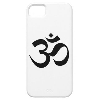 Indian Dharmic religion sacred symbol mantra Hindu Barely There iPhone 5 Case