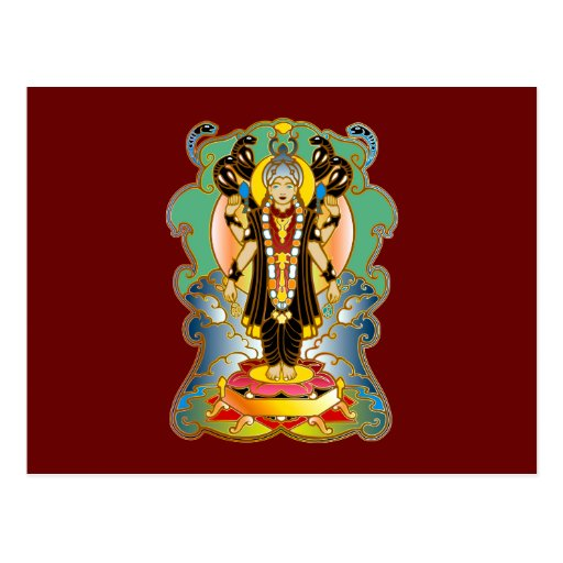 Indian divinity indian deity postcard