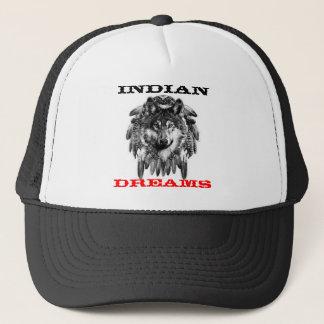 Indian dreams trucker hat