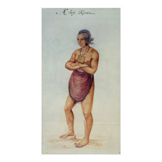 Indian Elder or Chief Poster