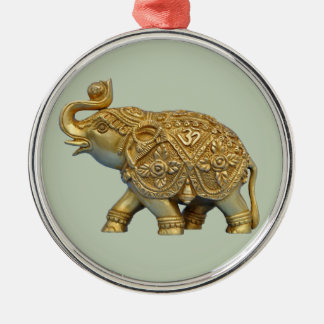 Indian Elephant Christmas Ornament