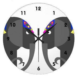 Indian Elephant Clock