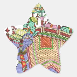 INDIAN ELEPHANT DESIGN STICKER
