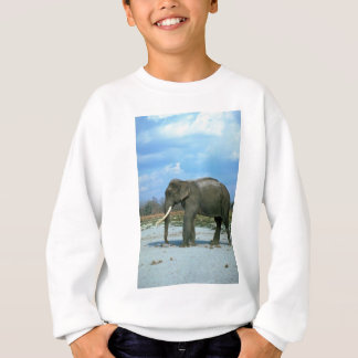 Indian Elephant-huge bull Sweatshirt