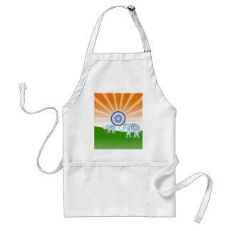 Indian elephant standard apron