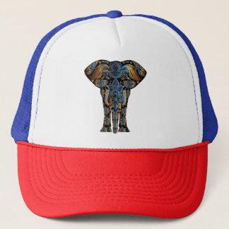Indian elephant trucker hat