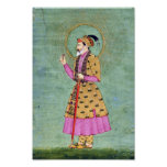 Indian Emperor Painting Poster
