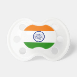 Indian Flag Pacifiers