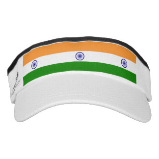 Indian flag visor