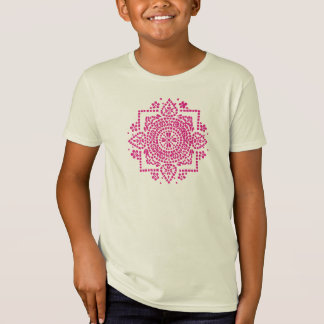 Indian Floral Motif Tshirts