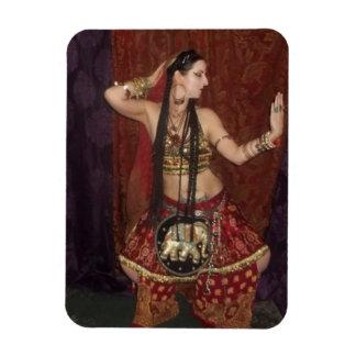 Indian Fusion Belly Dancer Magnet