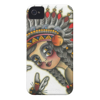 indian girl 2 iPhone 4 case