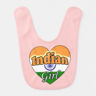 Indian Girl Baby Bibs
