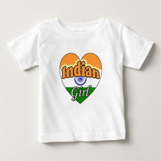 Indian Girl Baby T-Shirt