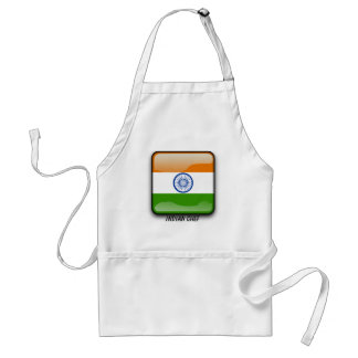Indian glossy flag standard apron