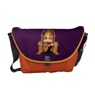 Indian Goddess Altar Woman Decoration Design Man Courier Bag