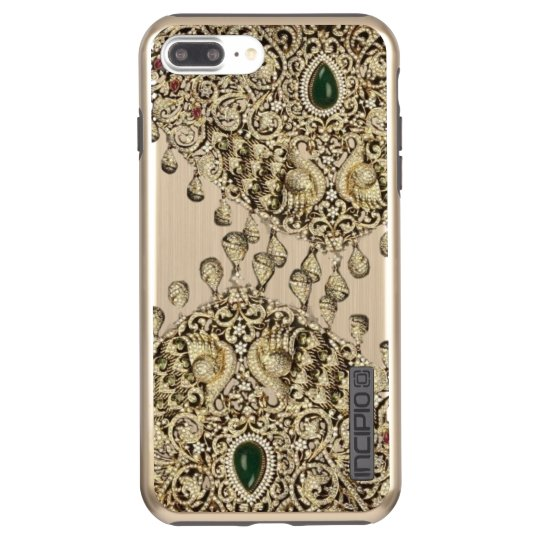 Indian Gold Bridal Jewellery Pattern Phone Case