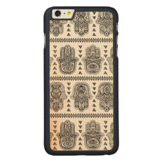 Indian Hand Drawn Hamsa Doodle Carved® Maple iPhone 6 Plus Case
