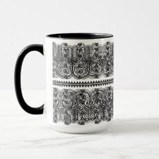 Indian Hand Drawn Hamsa Doodle Mug