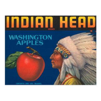 Indian Head Postcard