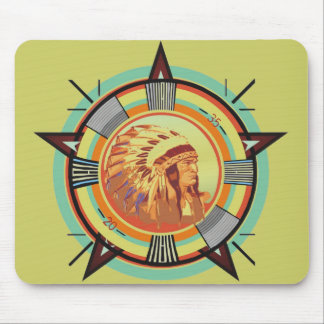 Indian Head Test Pattern Mouse Pad