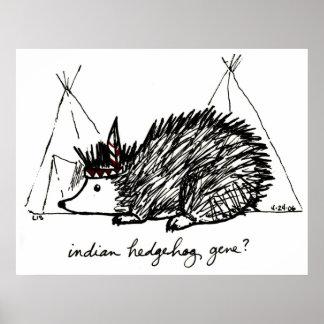 Indian Hedgehog Gene print