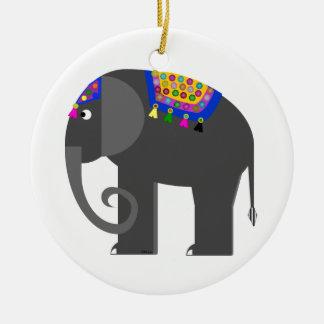 Indian Hefalump Christmas Ornament