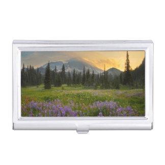 Indian Henry's Hunting Ground at sunrise Business Card Holders