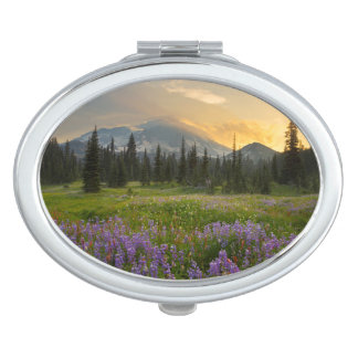Indian Henry's Hunting Ground at sunrise Vanity Mirror