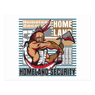 Indian Homeland Security Postcard