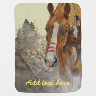 Indian horse buggy blankets