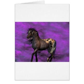 Indian Horse Card