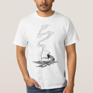 Indian in His Solitude by NC Wyeth, Vintage West T-Shirt