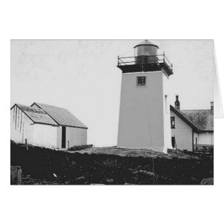 Indian Island Lighthouse Greeting Cards