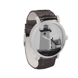 Indian Island Lighthouse Wrist Watches