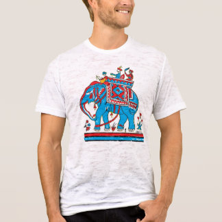 Indian King : Traditional Indian Art T-Shirt