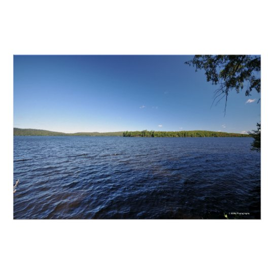 Indian lake in the Adirondacks. print 08 220