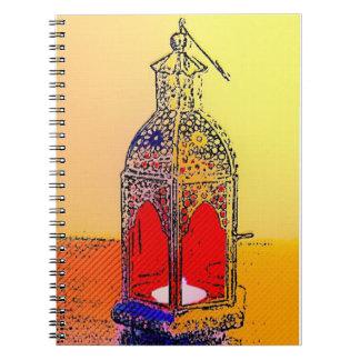 Indian Lamp Notebook