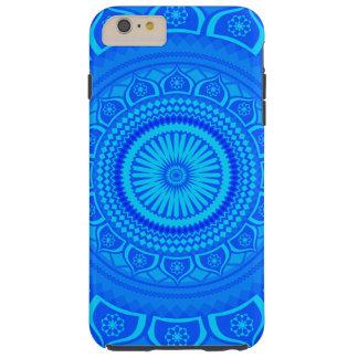 Indian mandala Blue Tough iPhone 6 Plus Case