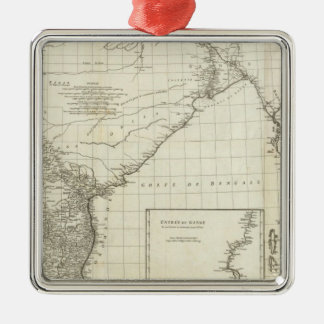 Indian Map Christmas Ornament