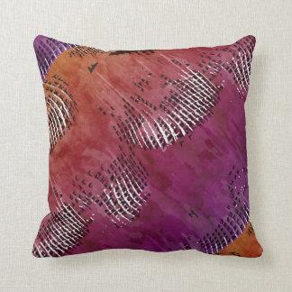 Indian Night Abstract Art Throw Cushion